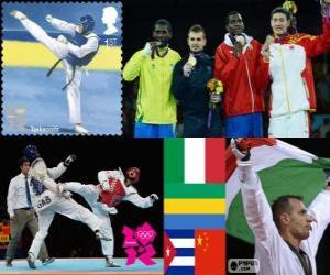 Herren über 80kg Taekwondo London 2012 puzzle