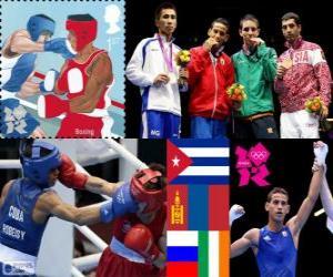 Herren-Fliegengewicht Boxen London 2012 puzzle
