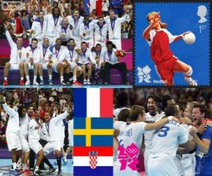 Herren Handball London 2012 puzzle