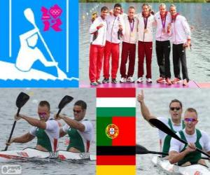 Herren-Kanu-Sprint K2 1000m London 2012 puzzle