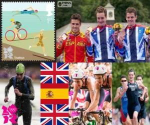 Herren Triathlon London 2012 puzzle