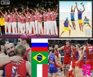 Herren Volleyball London 2012 puzzle