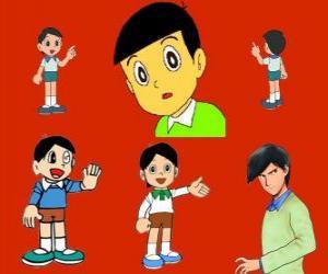 Hidetoshi Dekisugi, Nobita Klassenkamerad puzzle