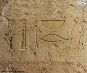 Hieroglyphen puzzle