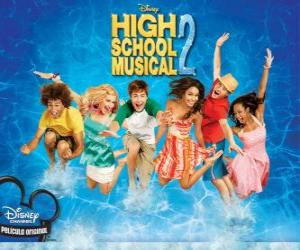 High School Musical 2 puzzle