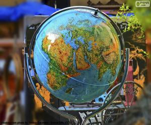 Himmelsglobus puzzle