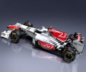 Hispania F111 - 2011 - puzzle