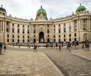 Hofburg, Österreich puzzle