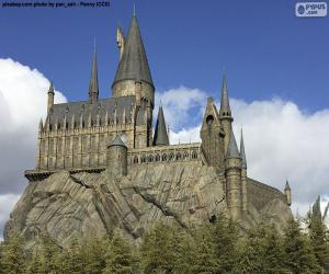 Hogwarts School of Witchcraft and Wizardry puzzle