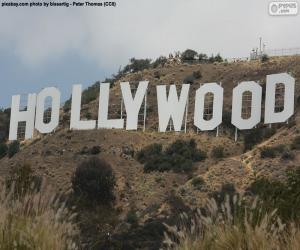 Hollywood Sign puzzle