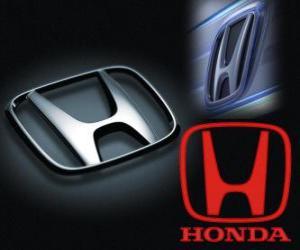 Honda Logo, japanische Automarke puzzle