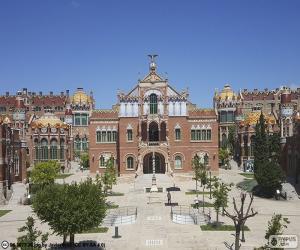 Hospital de Sant Pau, Barcelona puzzle