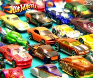 Hot Wheels Autos puzzle