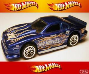 Hot Wheels Ford Mustang Cobra puzzle