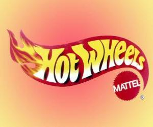 Hot Wheels Logo von Mattel puzzle