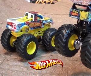 Hot Wheels Monster Jam puzzle