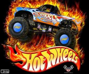 Hot Wheels Monster Truck in Aktion puzzle
