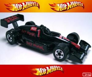 Hot Wheels Rennwagen puzzle