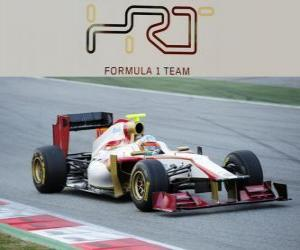 HRT F112 - 2012 - puzzle