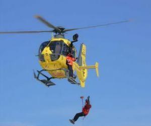 Hubschrauber Notfall puzzle