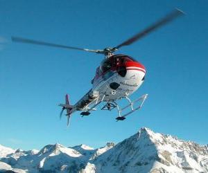 Hubschrauber Rettung puzzle