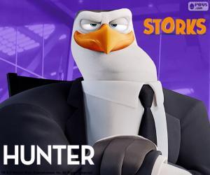 Hunter, Störche Abenteuer Im Anflug puzzle