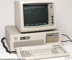IBM PC/AT (1984) puzzle
