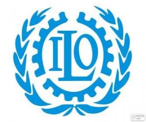 ILO-Logo, Internationale Arbeitsorganisation puzzle