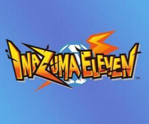 Inazuma Eleven Logo. Nintendo Videospiel und Anime Manga puzzle