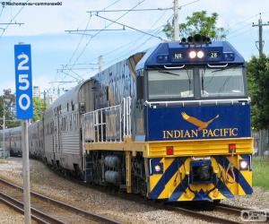 Indian Pacific puzzle