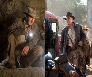Indiana Jones ist einer der weltweit bekanntesten Abenteurer puzzle