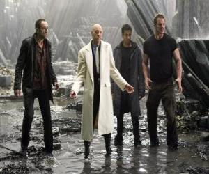 Industrial Millionär Lex Luthor, der Neid und Hass den Tod, die Haupt-Bösewicht. Er wurde Präsident der Vereinigten Staaten. puzzle