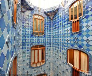 Innenhof, Casa Batlló puzzle