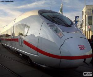 Intercity-Express, Deutschland puzzle