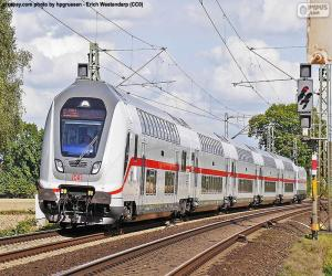 Intercity IC 2, Deutschland puzzle
