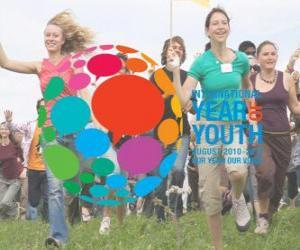 Internationalen Jahr der Jugend. August 2010 - 2011. Unser Jahr, unsere Stimme puzzle