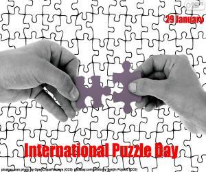 Internationaler Puzzletag puzzle