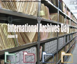 Internationaler Tag der Archive puzzle
