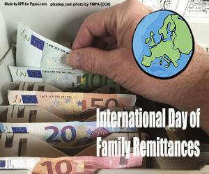 Internationaler Tag der Familienüberweisungen puzzle