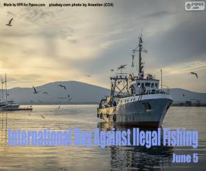 Internationaler Tag gegen illegale Fischerei puzzle