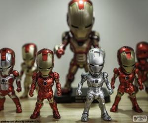 Iron Man figuren puzzle