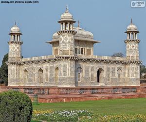 Itimad-ud-Daula-Mausoleum, Indien puzzle