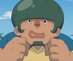Jack Wandseite oder Heigoro Kabeyama ist die große und ängstlich Verteidiger Raimon Eleven puzzle