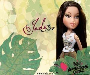 Jade: - Kool Kat - ist in Asien, mit grünen Augen. Sein zweiter Name ist Marie, steht für Weisheit. puzzle