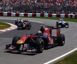 Jaime Alguersuari - Toro Rosso - Montreal 2010 puzzle