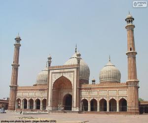 Jama Masjid, Indien puzzle