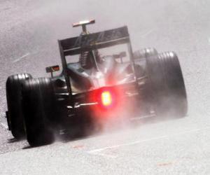 Jarno Trulli - Lotus - Spa-Francorchamps 2010 puzzle