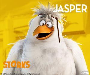 Jasper, Störche Abenteuer Im Anflug puzzle