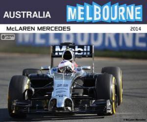Jenson Button - McLaren - Grand Prix Australien 2014, 3. klassifiziert puzzle