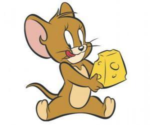 Jerry ein köstliches Stück Käse puzzle